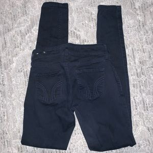Hollister Navy Pants Sz 1L